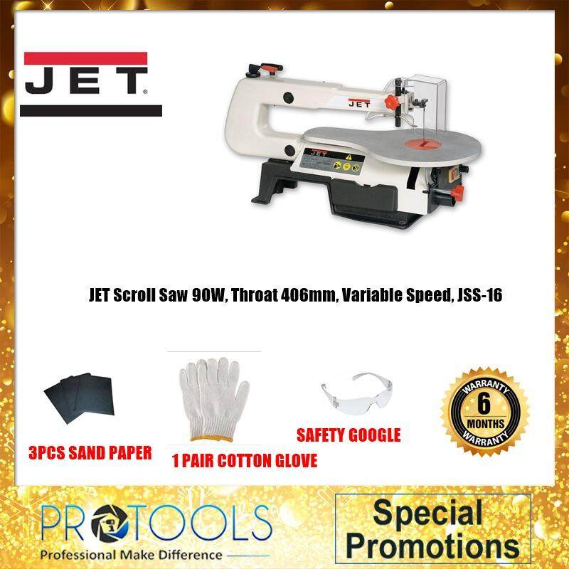 Jet Professional JSS-16 90W 16 Variable Speed Scroll Saw