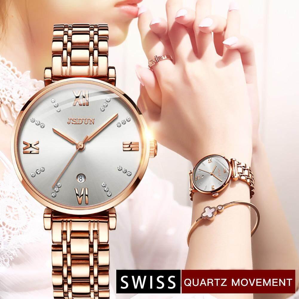 Swiss watch for women Ultra-thin Womens Watches Swiss Quartz Movement Wrist Watche for Women Top Luxury Lady Dress Mujer Bayan Kol Saati Montre Femme Malaysia