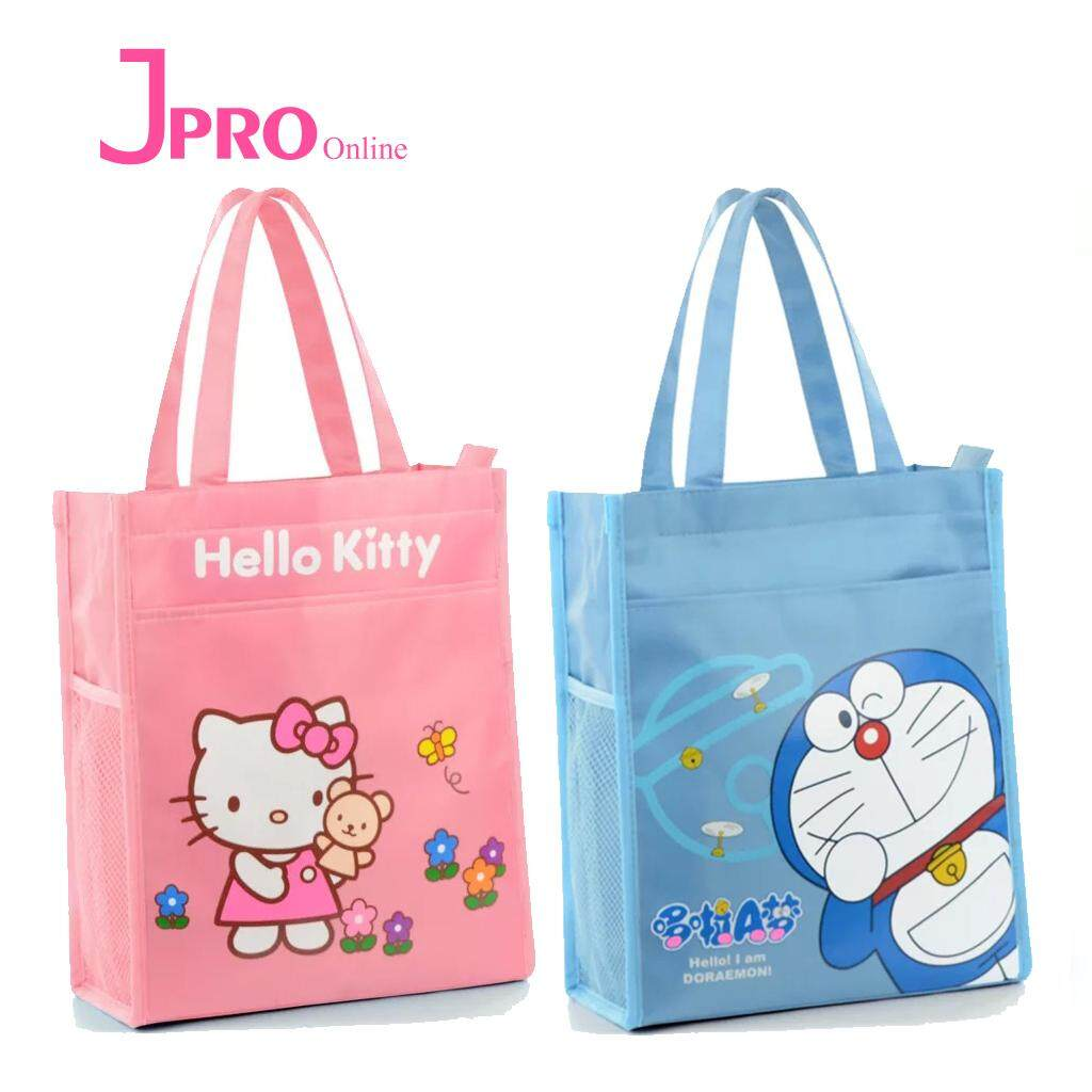 deca0a14d Hello Kitty/Doraemon High Quality Oxford Waterproof Shoulder Bag Tuition Bag
