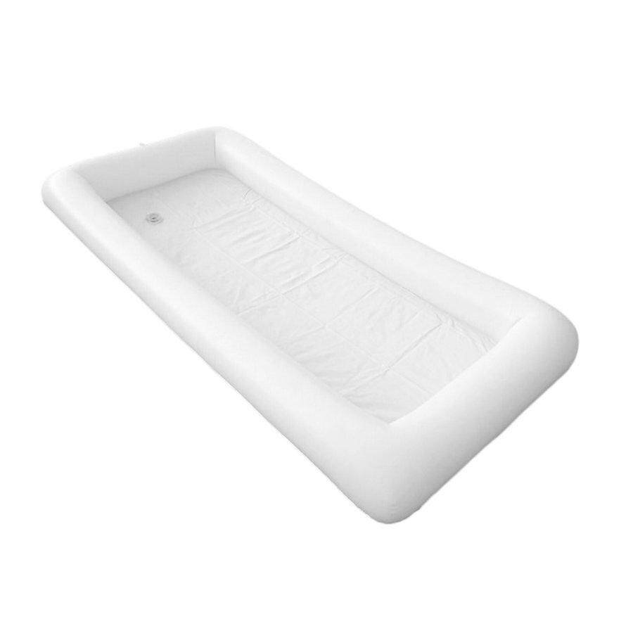Flash Deals Inflatable Serving Bar Salad Buffet Ice Tray Picnic Drink Table for Party
