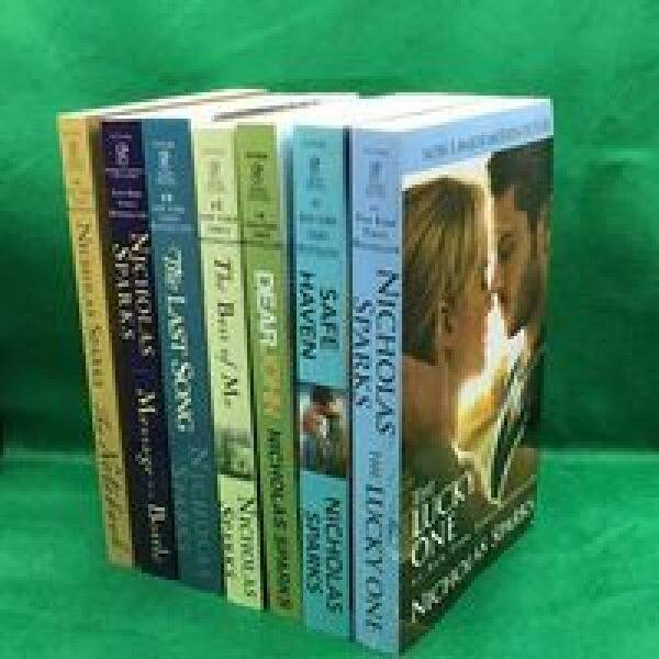 Notebook Lucky Charm English Nicholas Spark Nicholas Complete Works of Fiction 7 Books