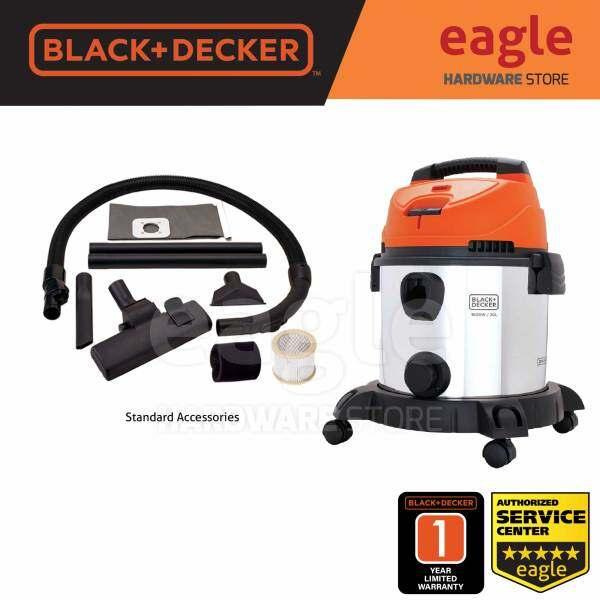 Black & Decker BDWDS20-B1 1600W 20 Liter Stainless Steel Multifunction Vacuum Cleaner ( BDWDS20 )