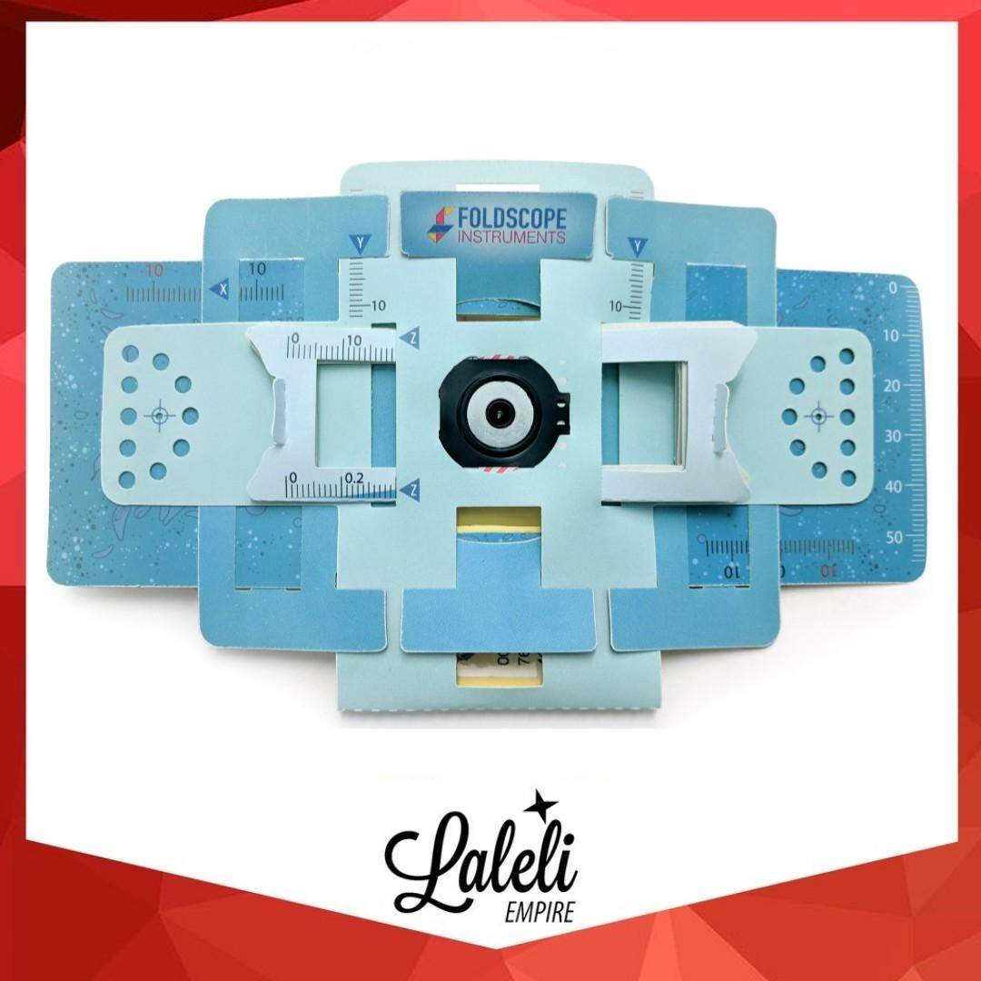 [LALELI] LAZADA BEST PICK!! Foldscope Basic Kit/ Little Scientist