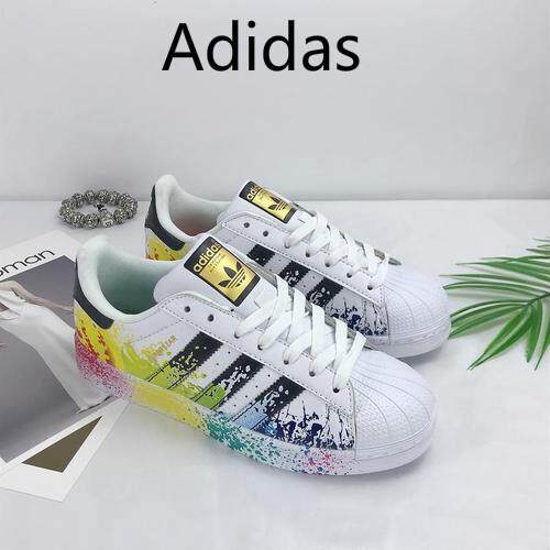 9a233765a4b Adidas Men's shoes clover shell head gold standard women's shoes laser casual  shoes low to help