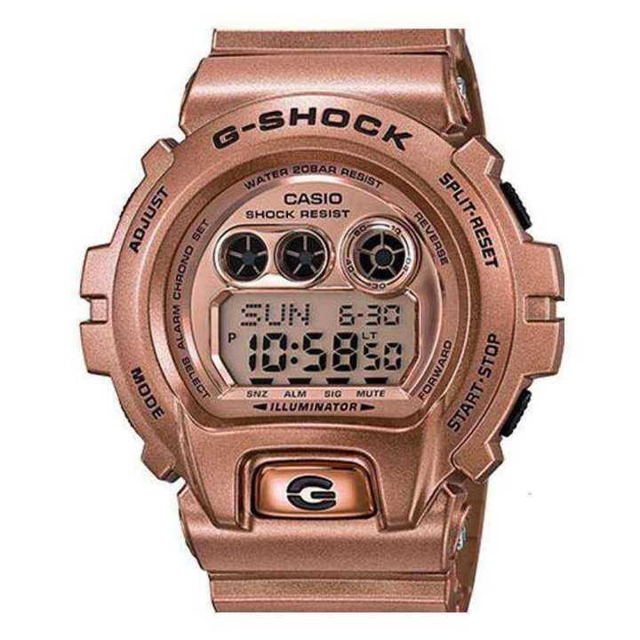 100% Authentic Ready Stock casio_watches_G-Shock Digital Gdx-6900Gd-9Cr Resin Rose Gold Men Watch Quartz Watch Electronic Watch Mechanical Watch Smart Watch Mens Watch Couple Watch Malaysia