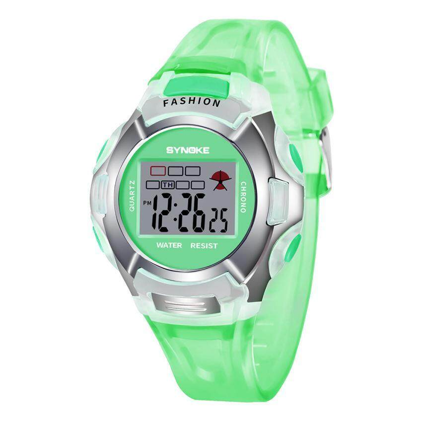 New Waterproof Children Watch Boys Girls Led Digital Sports Watches Plastic Kids Alarm Date Casual Watch Select Gift For Kid #D Malaysia