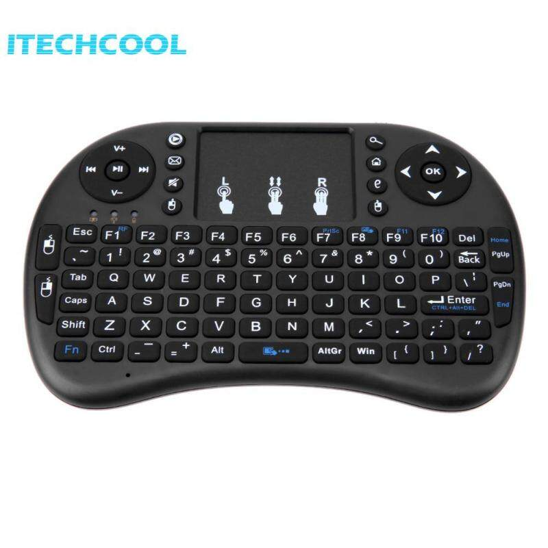 2.4G Wireless Air Keyboard Mouse Qwerty Remote Touchpad XBMC Android TV BOX Singapore