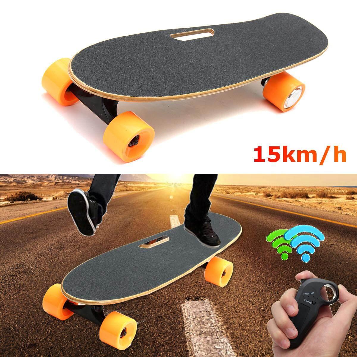 b95efdaf9a  Free Shipping + Flash Deal New Electric Longboard Skateboard 4 Wheels  Wireless Remote Control