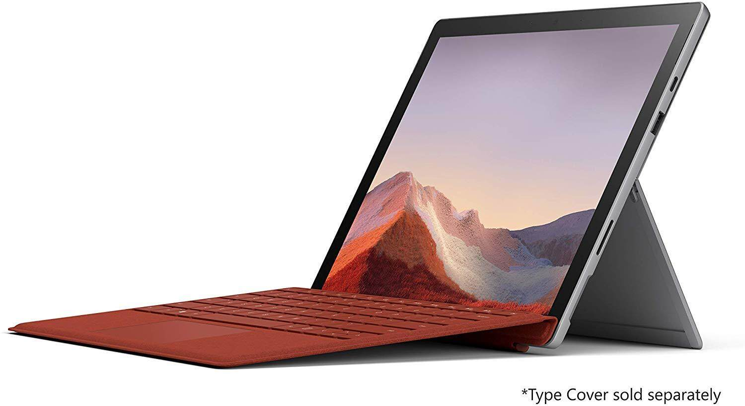 NEW Microsoft Surface Pro 7 – 12.3  Touch-Screen - Intel Core i7 - 16GB Memory - 256GB Solid State Drive (Latest Model) – Platinum Malaysia