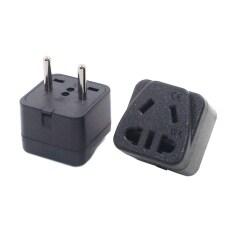 Châu Âu 4.0 Mét Pins Điện AC Power Adapter Đa Chức Năng Du Lịch Cắm Trung Quốc Phổ EU AU 2 Pin Travel Adaptor Chuyển Đổi
