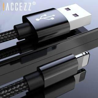ACCEZZ Cáp Sạc USB 8Pin Cho Iphone XR X XS MAX SE Dây Sạc Đồng Bộ Dữ Liệu Chiếu Sáng Cho Iphone 8 7 6S 6 5 Plus thumbnail