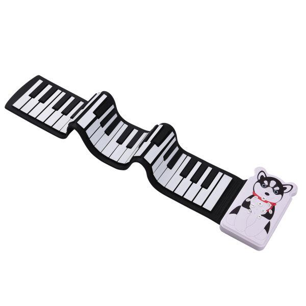 Bàn Phím Đàn Piano Điện Tử Cuộn Lên 49 Phím Tiện Dụng Loa Tích Hợp Chức Năng Ghi Âm Bản Ghi 8 Tông 6, Với Echo Duy Trì Trill Hiệu Ứng 3.5Mm Đầu Ra Có Pin Tích Hợp