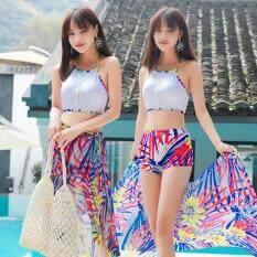 【3 PCS】VESTLINE Phụ Nữ Hàn Quốc Bơi Đồ Bơi Nữ Bikini Đi Biển Đồ Bơi 2019 Mới