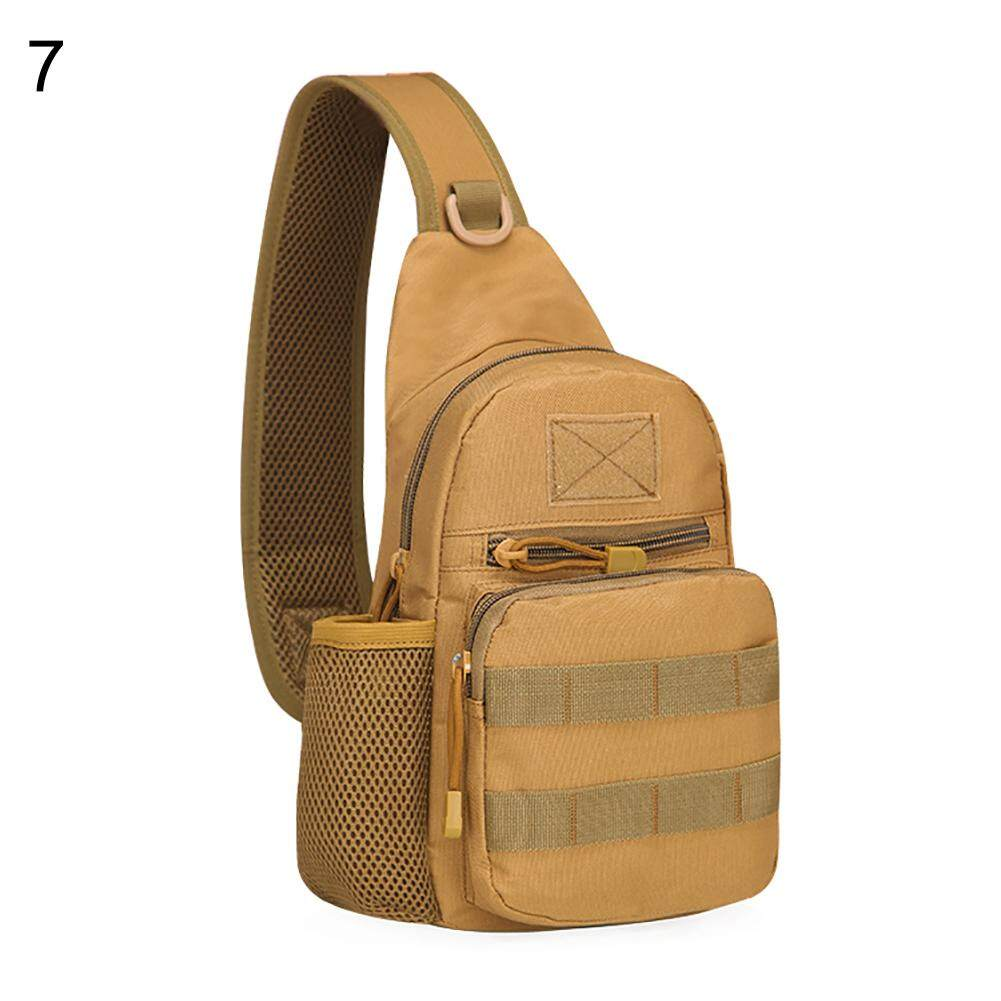 Fashionhead  Men Outdoor Sports Shoulder Bag Military Camping Hiking Tactical Chest Pack