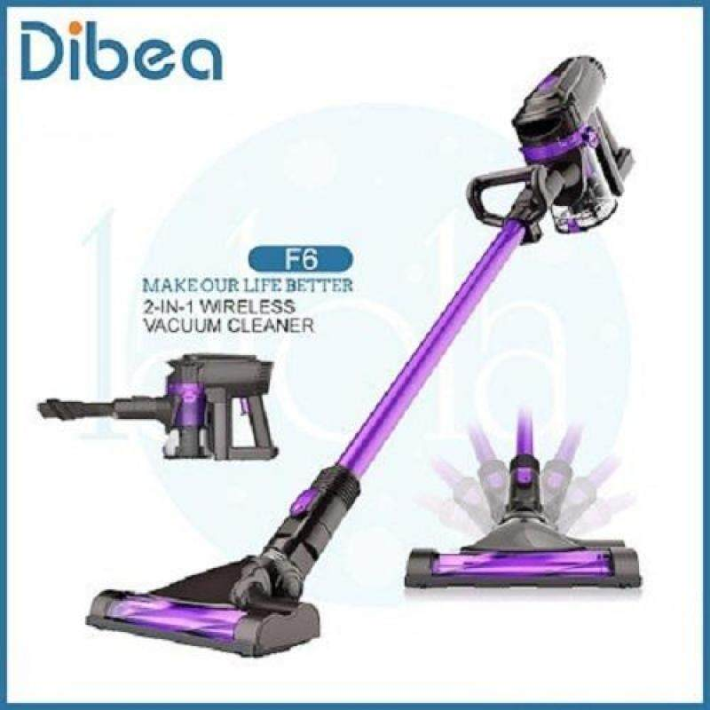Dibea F6 Vacuum Cleaner 2-in-1 Cordless Handheld Upright Stick Machine with Mop for Carpet Hardwood Floor Cyclonic Filtration Singapore