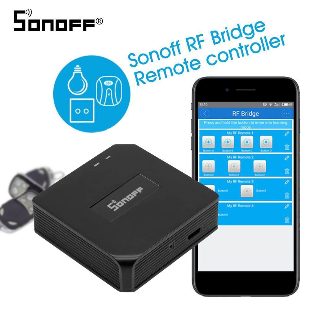 Sonoff RF Cầu 433 Mhz Wifi Không Dây Thông Minh Wi-Fi Remote RF Điều Khiển Tự Động Hóa Module Công Tắc Cho Nhà Thông Minh An Ninh Alexa google Home