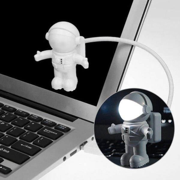 Keyboard Lights USB Night Light Mini White Flexible Astronaut USB Astronaut Tube LED night light