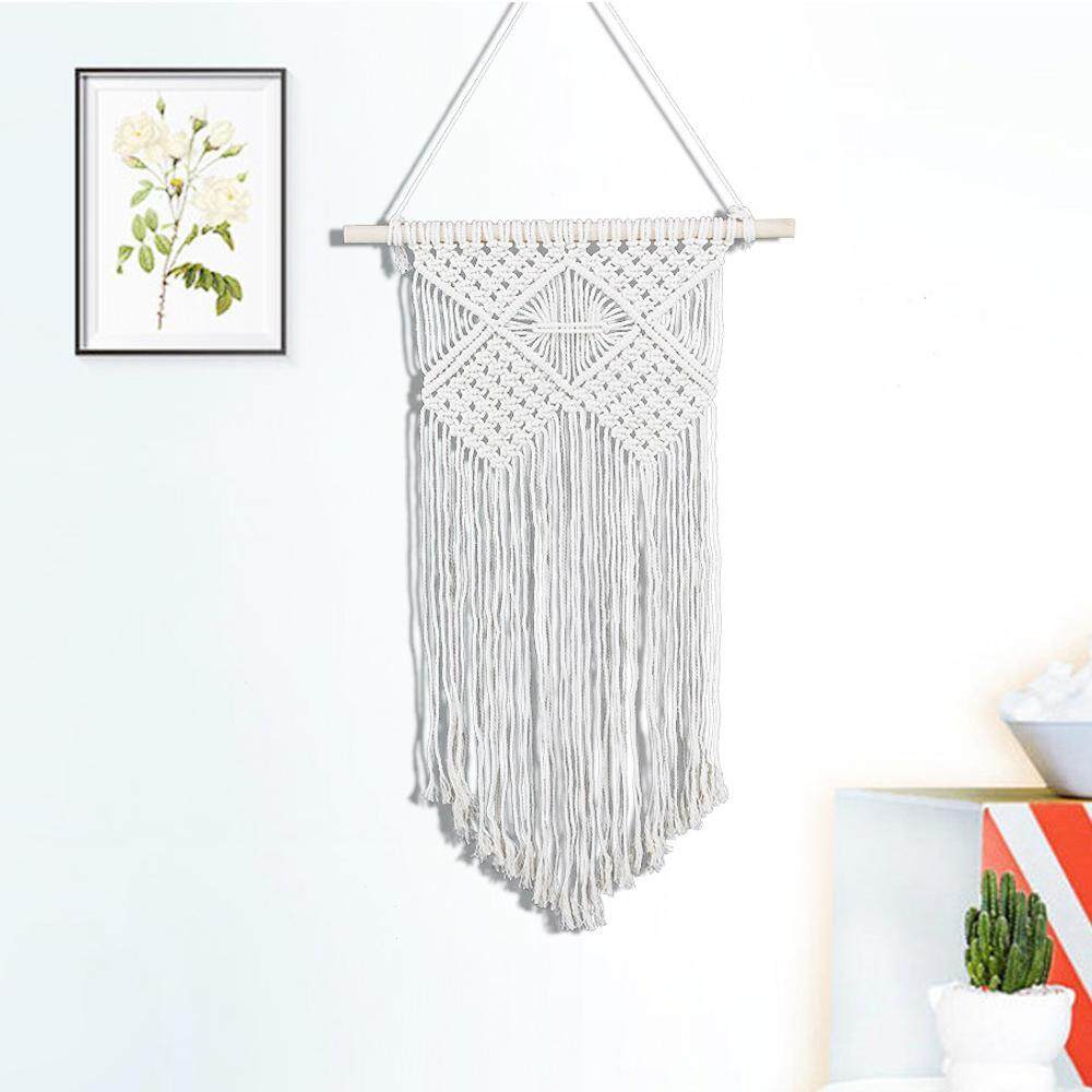 leegoal Woven Wall Hanging Boho Chic Bohemian Home Geometric Art Decor Beautiful Apartment Dorm Room Decoration