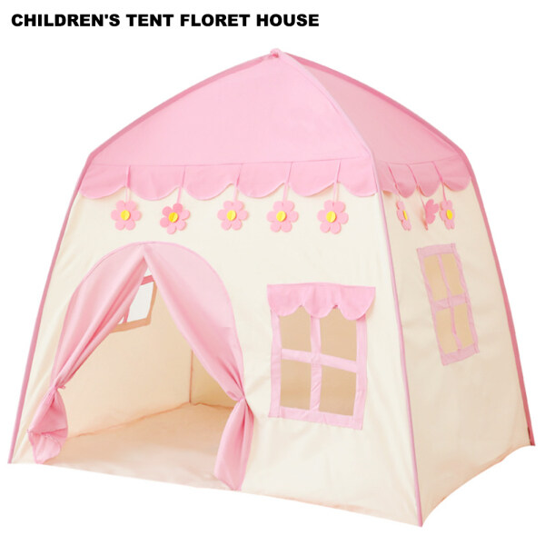 Childrens Tent Small Flower House Baby Pop-up Game Tent Fairy Girl Boy Garden Theater Small Tent