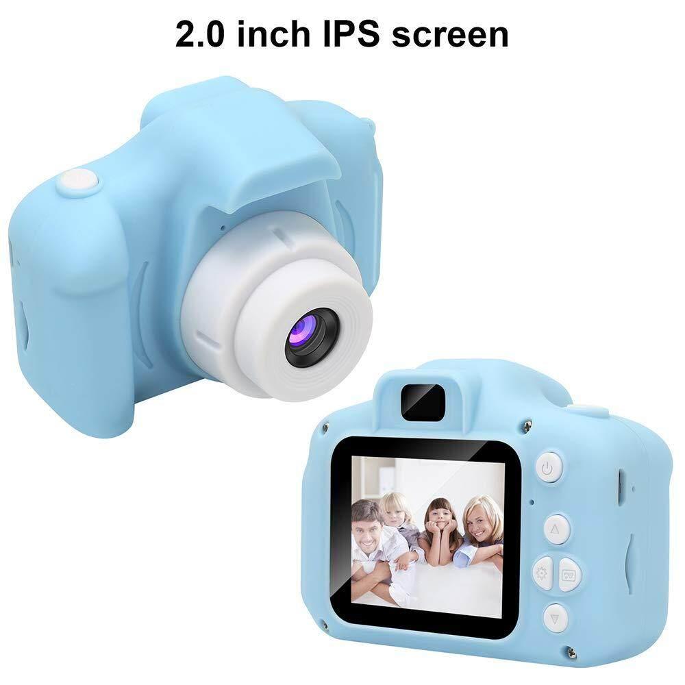 Trẻ Em Kỹ Thuật Số Camera Mini Sạc Trẻ Em Camera Chống Sốc 8MP HD Tập Đi Máy Ảnh Con Máy Quay Phim Giảm Duy Nhất Hôm Nay