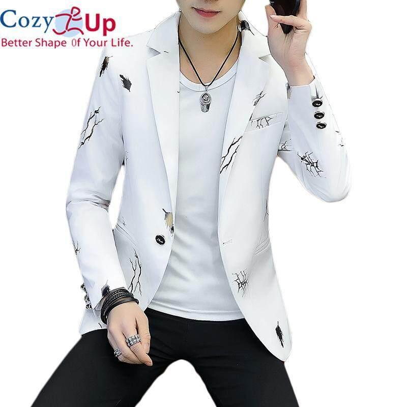 Áo khoác vest blazer dành cho nam công sở form ôm slim tôn dáng chất liệu cotton dày dặn cao cấp- Cozy Up
