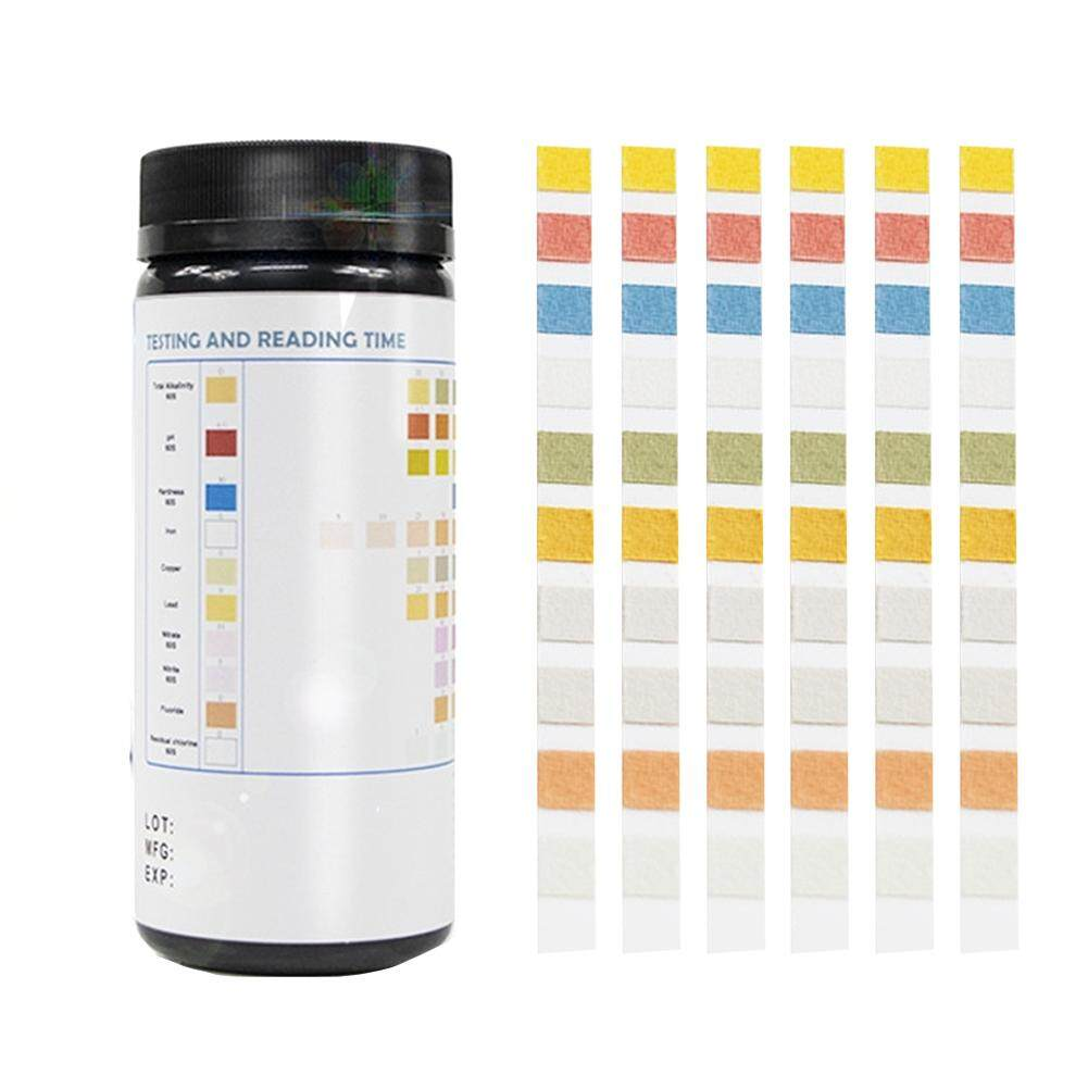 Spa Chlorine Swimming Pool PH 10 In 1 Bromine Quick Results Water Hardness Test Strips