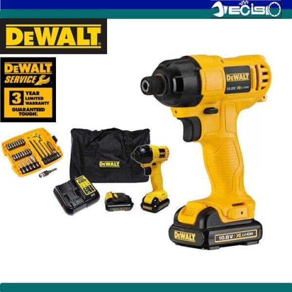 DEWALT DCF805C2A 10.8V Compact Cordless Impact Driver Drill C/W Accesories