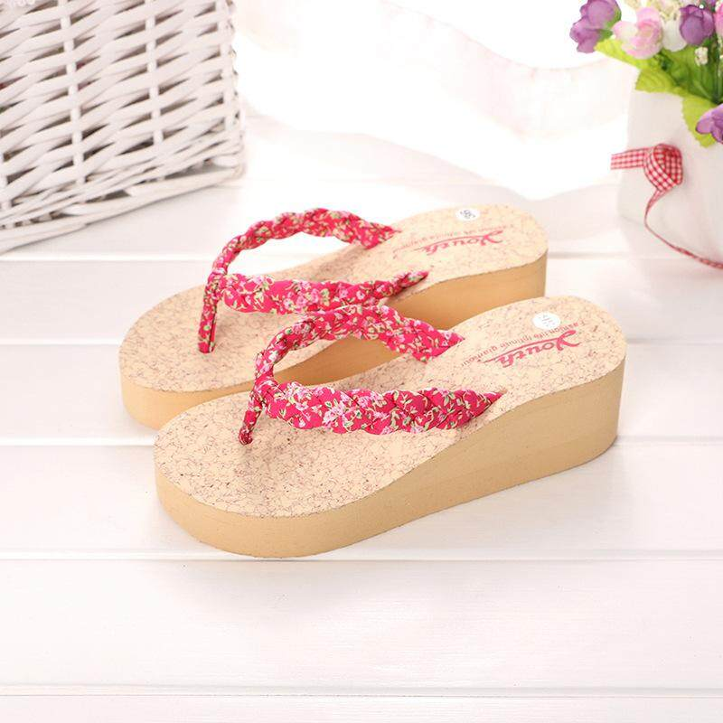 97038aa1a MAD4U Brand Manufacturers Wholesale Fashion Casual Women's Word Drag Summer  Slope with Thick Bottom High Heel