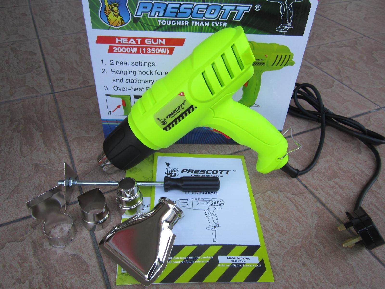 Prescott 2000W Electric Heat Gun, Heat Gun
