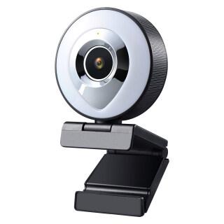 Webcam Tự Động Lấy Nét Webcam HD Chiếu Sáng, 1080P Kèm Micro, USB 3 Phát Trực Tiếp Bằng Cấp Độ Sáng Cảm Ứng thumbnail