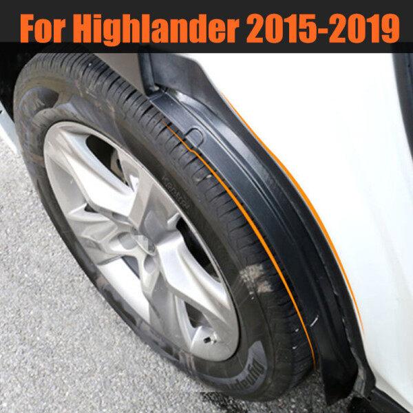 Cho Toyota Highlander Kluger 2015-2020 , Fender Xe Mudguards Trang Trí Chắn Bùn Bánh Sau Tân Trang Xe Bên Ngoài Phụ Kiện