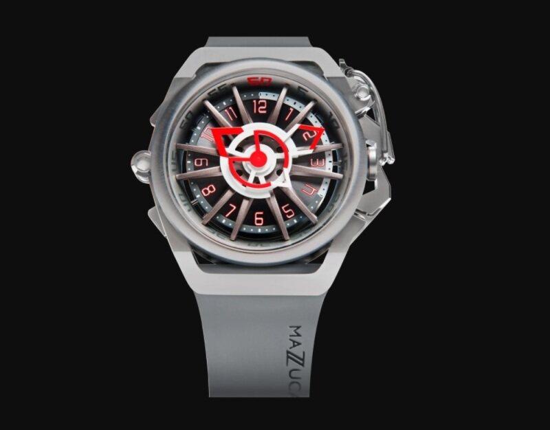 Mazzucato Rim Sport RIM09-GYWH Grey - Automatic Watch Malaysia