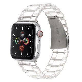 Dây Nhựa Cho IWatch Apple Watch Series 6 5 4 3 2 1 44Mm 42Mm 40Mm 38Mm Dây Đeo Bằng Thép Dây Nhựa Màu Thời Trang Mới thumbnail