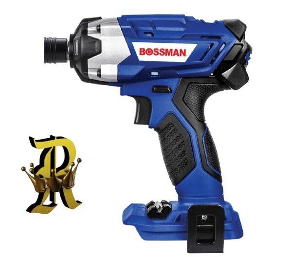 BOSSMAN 20V Cordless Impact Screwdriver BIS08-20M (Bare Machine) (Solo / Set)