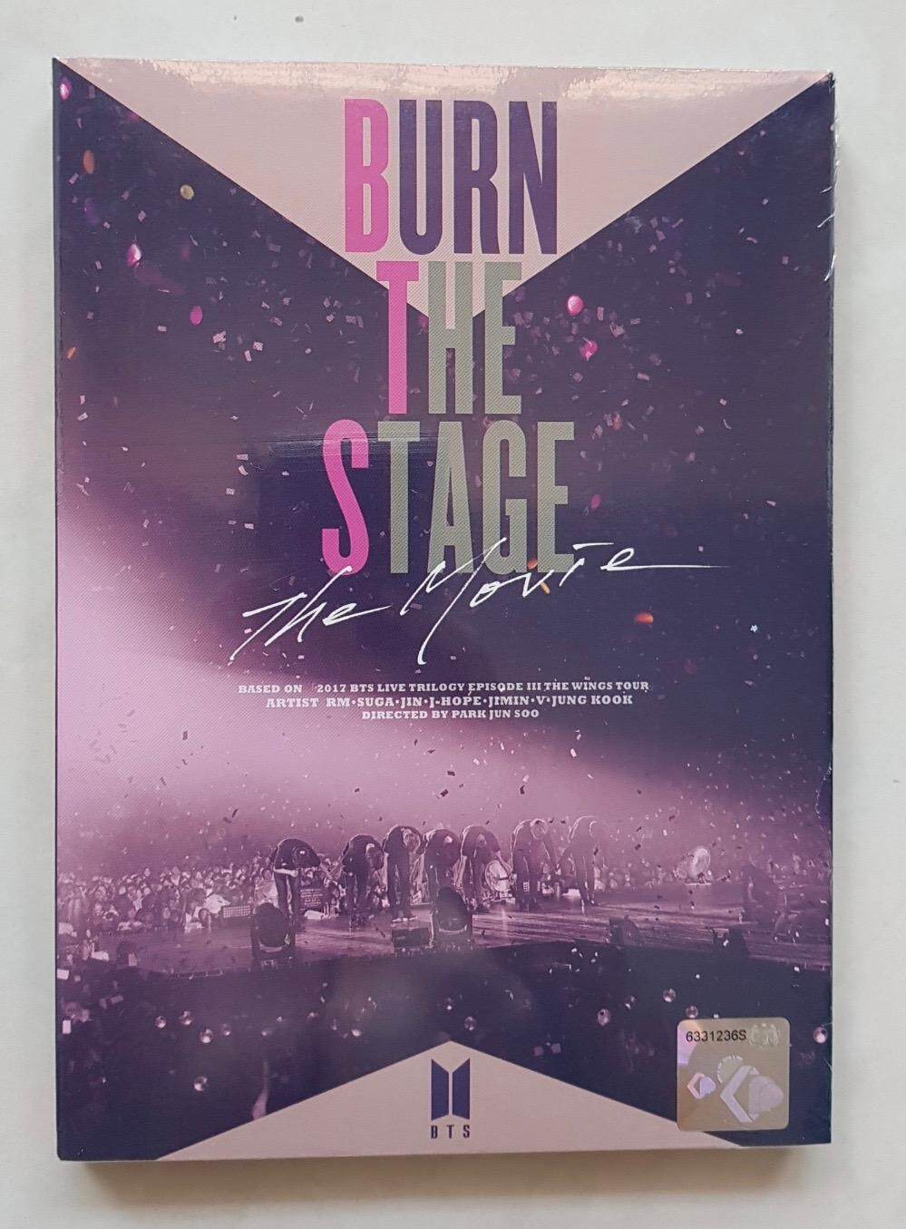 BTS Burn the Stage: The Movie DVD