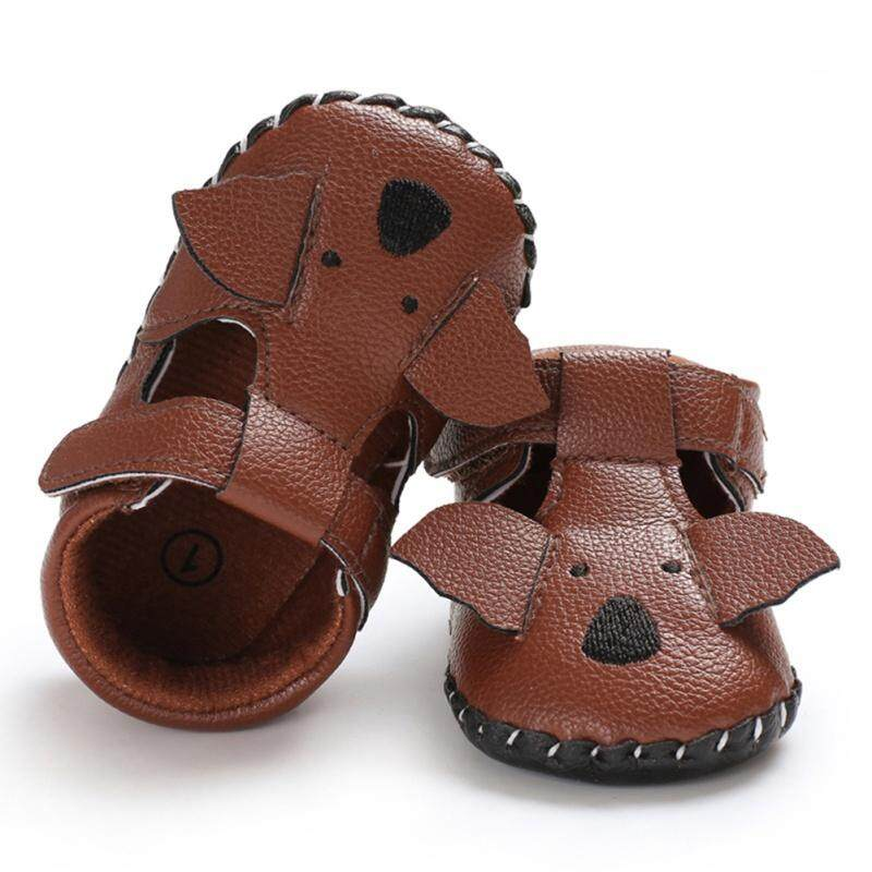 Summer Baby Boy Girl Cute Cartoon Sandals Soft Sole Anti-slip Crib Shoes First Walkers Walking Shoes
