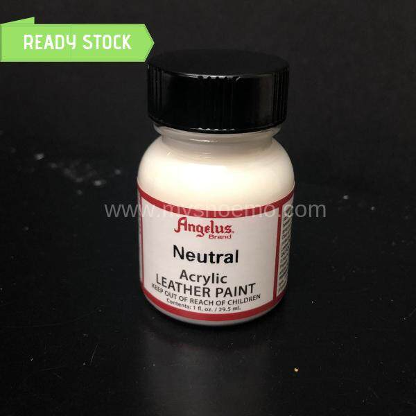 [READY STOCK] Angelus Leather Acrylic Paint Neutral 1oz (Sneaker/Shoe Paint)