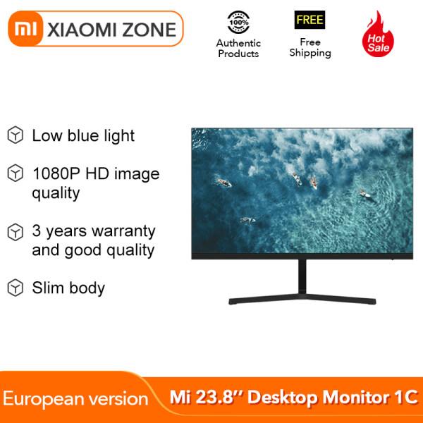 Xiaomi Mijia 23.8 Inch Office Gaming Monitor IPS Hard Screen 178 ° Super Wide Viewing Angle 1080P HD Computer Multi-Interface Malaysia