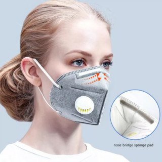 [Giảm Giá] 1 Cái 10 Cái KN-95 Face Masker With Valved FFP3 Ma-sk Protection Faceshield Skin-friendly Fabric For Adult 100% original thumbnail