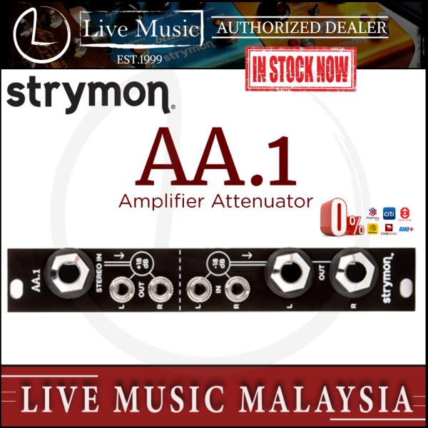 Strymon AA-1 Amplifier Attenuator Guitar Effects Rack (AA1/AA 1) Malaysia