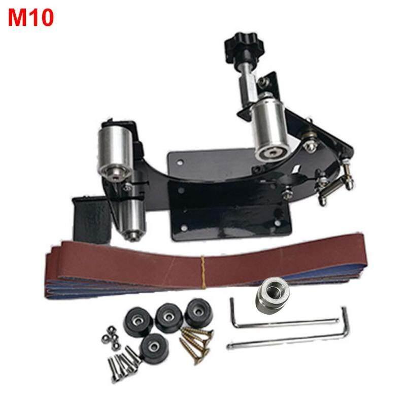 Điện Máy Mài Góc Dây Nhám TỰ LÀM Dụng Cụ Mini Gỗ Đánh Bóng M10 M14 Adapter