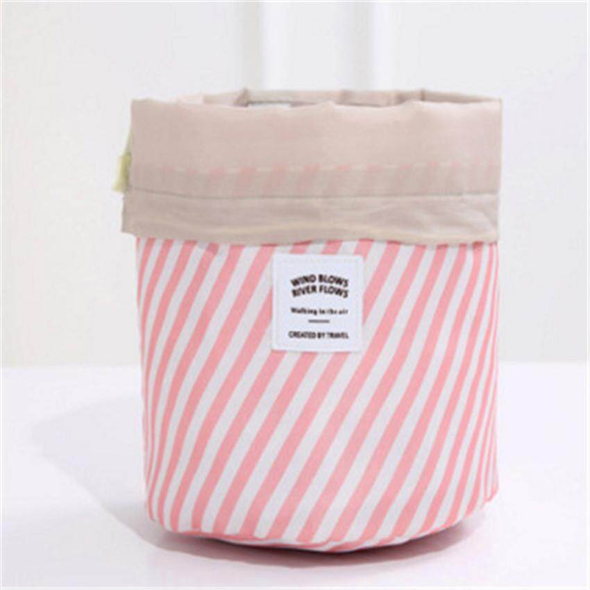 9fbae887226f New Round women makeup bag travel make up organizer Cosmetic bag ...
