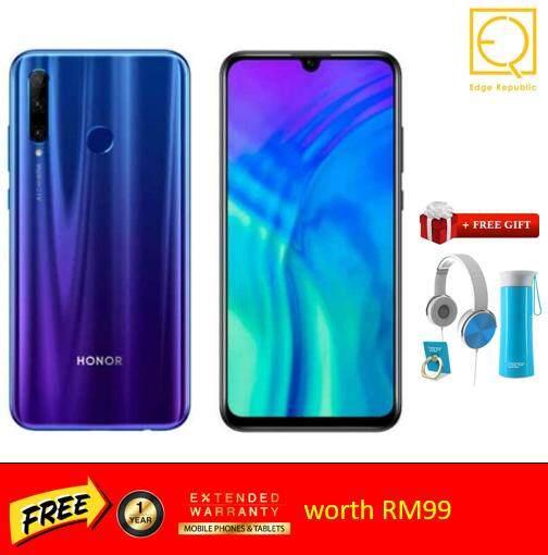 Honor 20 Lite [4GB + 128GB 6.21 IPS 3400mAh 24MP] Original Malaysia Set