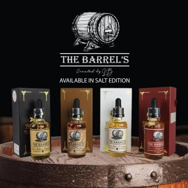 The Barrels Series (50ml) Freebase E-Liquid E-Juice Flavor Vape E-Cig Malaysia