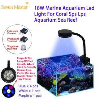 Đèn LED Bể Cá Biển San Hô SPS LPS Màu Xanh Dương 30-50 Cm Dành Cho Người Mới Bắt Đầu Màu Trắng 90V-240V - INTL thumbnail