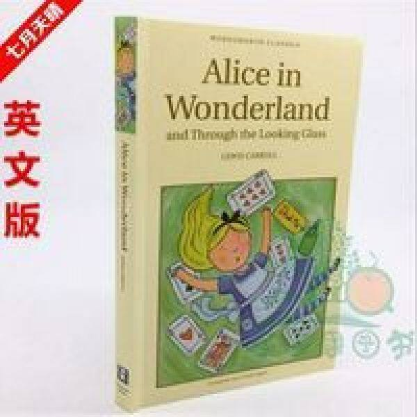 Alice in Wonderland English Original Alice in Wonderland World Famous Fiction Books