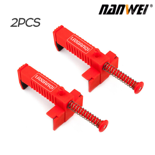 NANWEI 2PCS Brick Clamps Clamps Brick Liner Runner Wire Drawer Bricklaying Tool Fixer for Building Construction