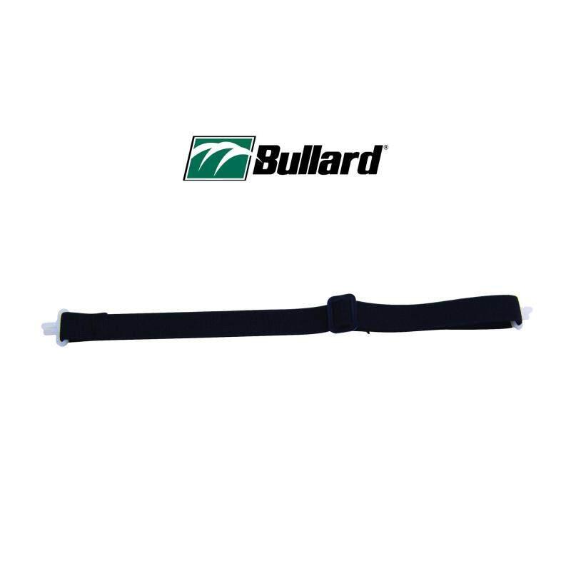 Bullard Elastic Chinstrap for Safety Helmets, Black 2-Point Latex-Free