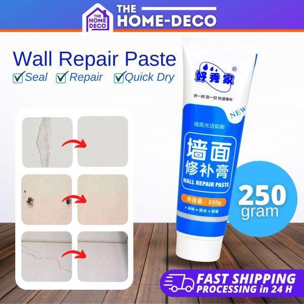 Wall Crack Repair Cream Paste DIY Waterproof Instant Repair Paste for Wall Hole Crack Dent Baik Dinding Berlubang 250g
