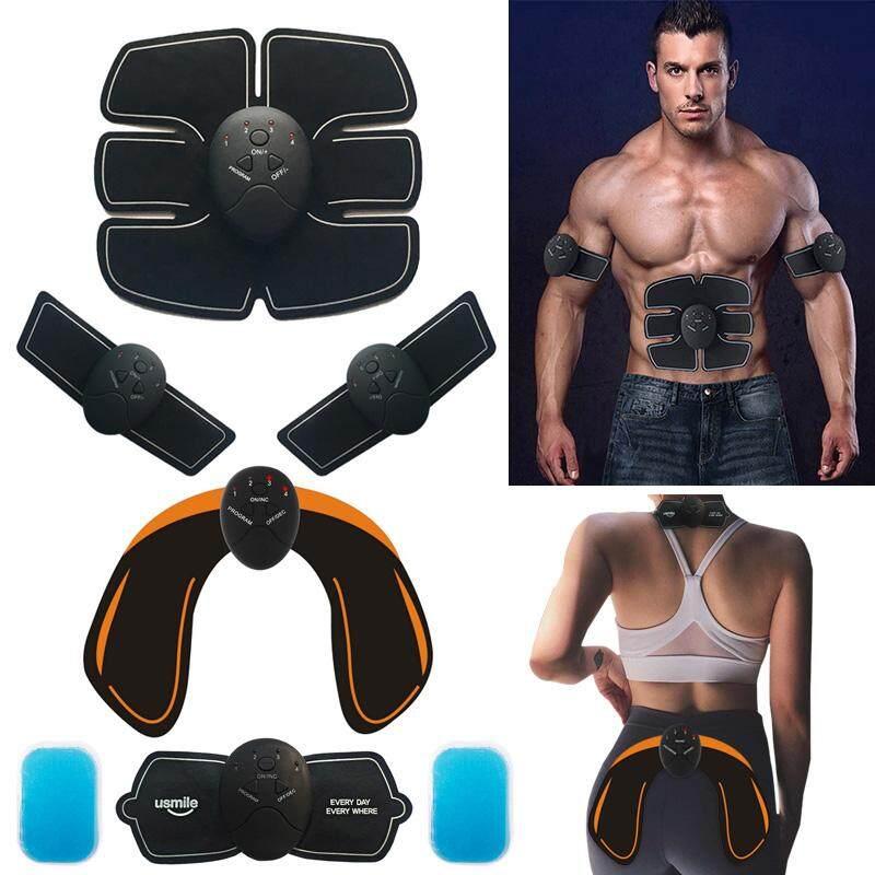 Abdominal Muscle Trainer Massage Stimulator Ems Wireless Vibration Body Slimming Machine Fat Burning Smart Fitness Training Hip By My Fair Lady.
